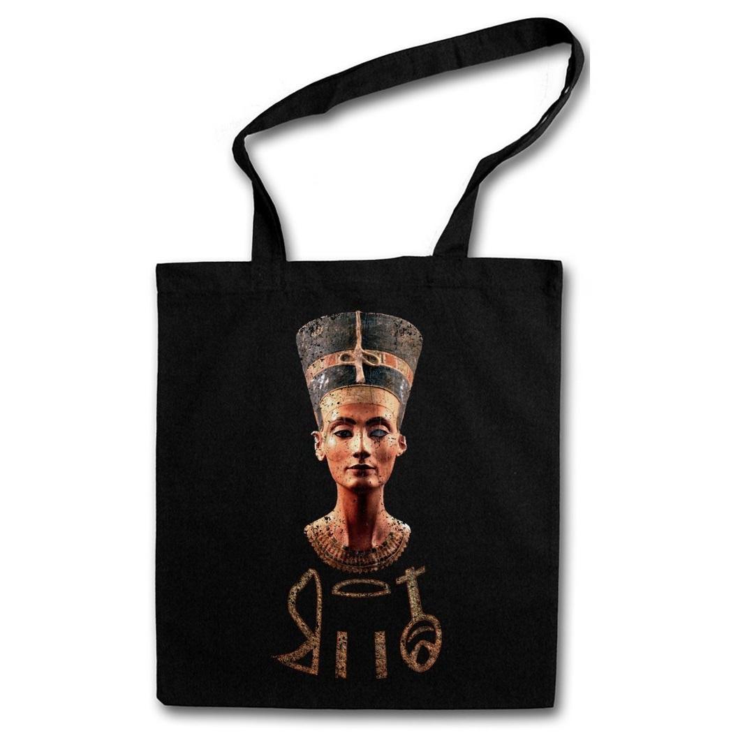 bolsa de algodon Nefertiti Egipto