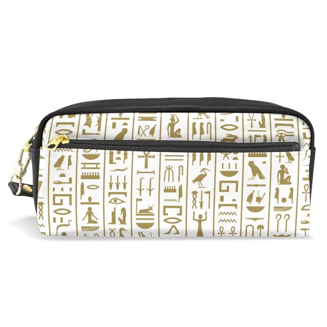bolsa estuche funda jeroglificos cosmeticos para viajar