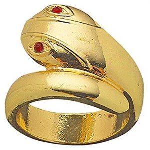 anillo serpiente egipcia