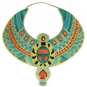 collar diosa egipcia