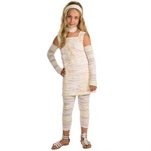 disfraz chica momia egipcia