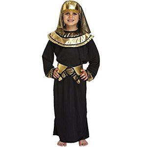 disfraz chico egipcio faraón negro dorado
