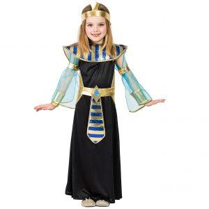 disfraz de Egipto chica negro oro