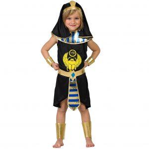 disfraz egipcia infantil negro azul