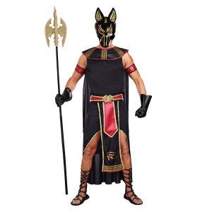 disfraz egipcio dios Anubis