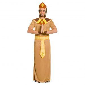 disfraz egipcio marrón