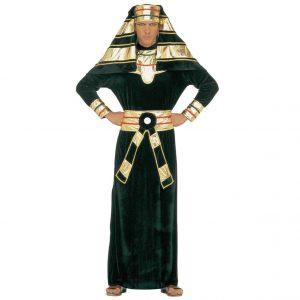 disfraz faraón egipcio antiguo verde dorado