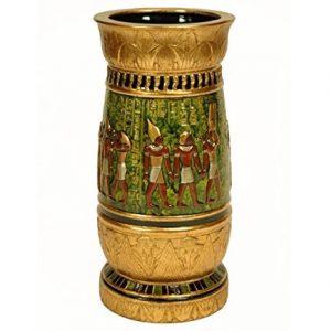 jarrón egipcio dorado ilustraciones