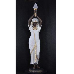 lampara de pie egipcia