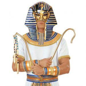 mascara faraón Tutankamón