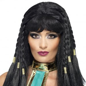 peluca disfraz Cleopatra