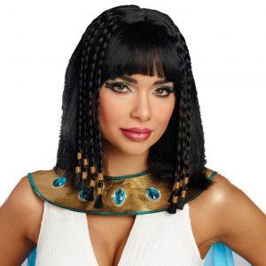 peluca reina egipcia