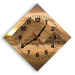 reloj de Egipto de pared rombo piramides