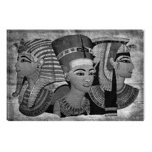 cuadro dioses egipcios iluminado oscuridad
