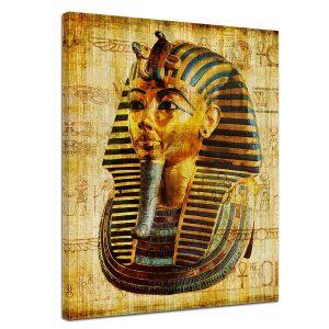 cuadro lienzo de faraón egipcio
