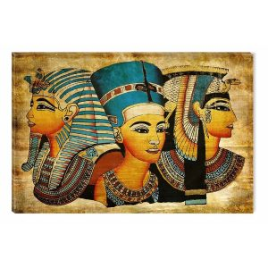 cuadro sobre lienzo míticos dioses egipcios alta calidad