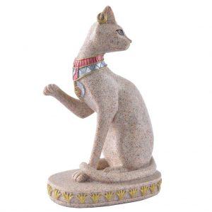 estatua gato egipcio de piedra