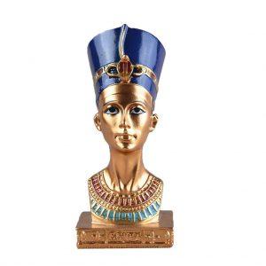 figura de Nefertiti dorada