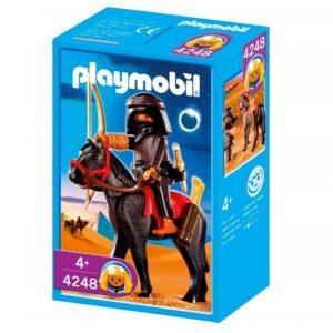 playmobil ladrón a caballo