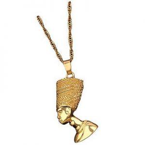 colgante dorado egipcio