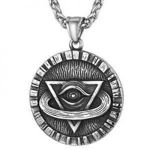 elegante colgante ojo horus