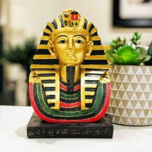 figura decorativa tutankamon