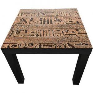 mesa jeroglificos egipcios