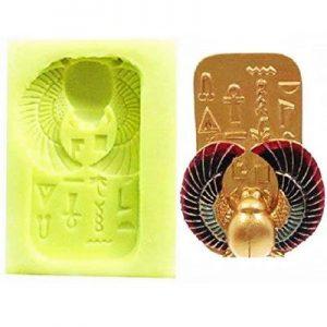 molde escarabajo egipcio artesanias