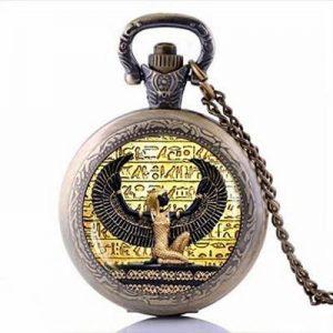 reloj bolsillo diosa egipcia