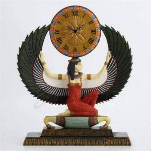 reloj diosa isis mesa