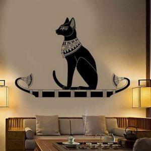 vinilo gato egipcio sagrado